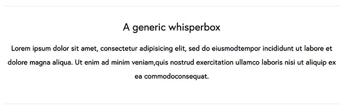 Medium Whisperbox